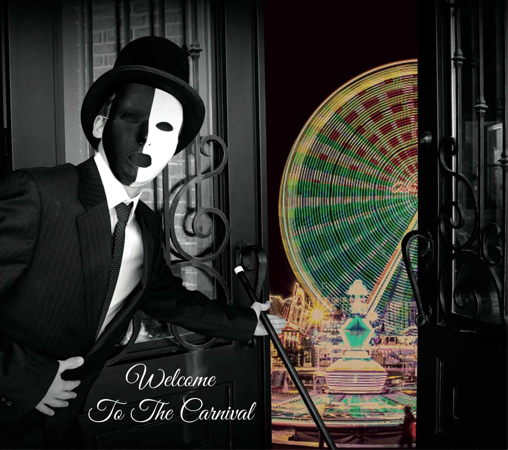 "Moment 44 ""Welcome to the Carnival"" Album Artwork"